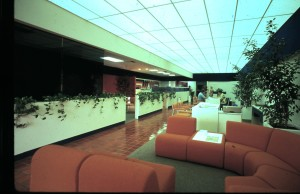Royal Trust - Branch Bank - Interior View